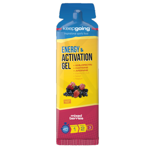 KEEPGOING GEL AMILOPECTINA FRUTAS