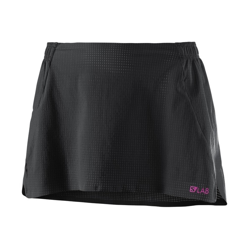 S-LAB LIGHT SKIRT W NEGRO